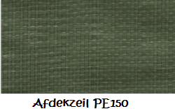 Afdekzeil medium PE 150 - 5 x 8 meter
