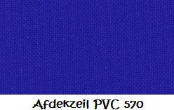 Afdekzeil PVC 570 - 6 x 8 meter