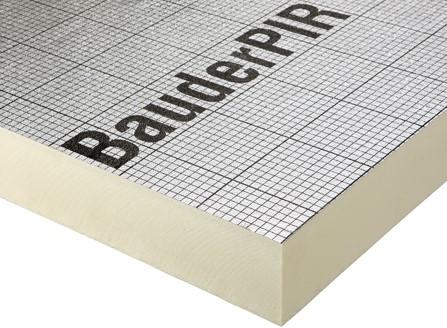BauderPIR FA-TE 80 - Isolatieplaat