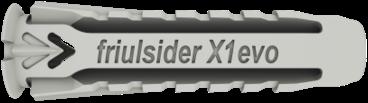 Friulsider Plug Nylon X1 - 8 stuks met ronde haakschroef