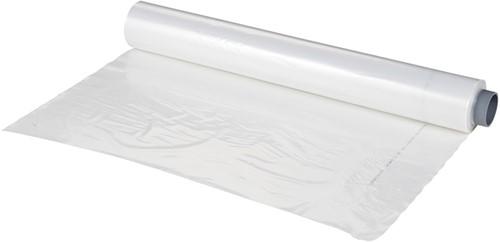 Asbest inpakfolie 200 my - 25 x 4 meter