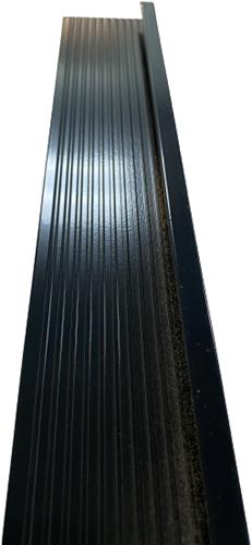 DakCover Daktrim 60 x 64 mm - lengte 250 cm - RAL 9005