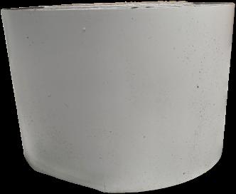 TTC Enkelzijdige Butyl TPO tape 10 cm x 15,24 meter (wit)